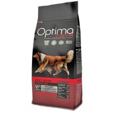 Сухой корм Optimanova Dog Adult Active Chicken & Rice