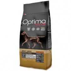 Сухой корм Optimanova Dog Adult Large Chicken & Potato