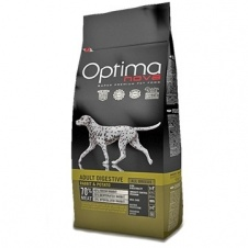 Сухой корм Optimanova Dog Adult Digestive Rabbit & Potato