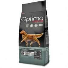 Сухой корм Optimanova Dog Adult Obesity Chicken & Rice