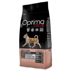 Сухой корм Optimanova Dog Adult Mini Sensitive Salmon & Potato