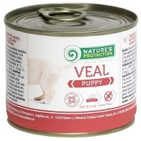 Консервы Nature's Protection Puppy Veal (Телятина)