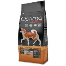 Сухой корм Optimanova Dog Adult Sensitive Salmon & Potato