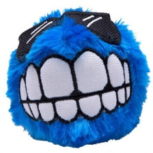 Игрушка Rogz Dog Fluffy Grinz Ball Blue