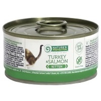 Консервы Nature's Protection Kitten Turkey & Salmon