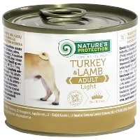 Консервы Nature's Protection Dog Adult Light Turkey & Lamb (Индейка и Ягнёнок)