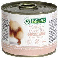 Консервы Nature's Protection Dog Adult Small Breeds Turkey & Apples (Индейка и яблоки)