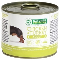 Консервы Nature's Protection Dog Adult Chicken & Turkey (Курица и индейка)