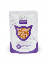 Brit Care Kitten Chicken Breast & Cheese Pouch