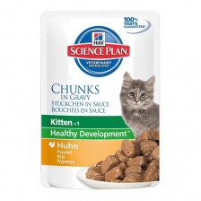"Hill's SP Feline Kitten Chicken ""Курица"" Pouch 12 х 85 гр"