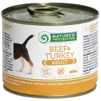 Консервы Nature's Protection Dog Adult Beef & Turkey (Говядина и индейка)