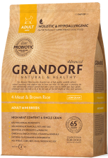 Grandorf Living Probiotics 4 Meat & Brown Rice Adult Mini