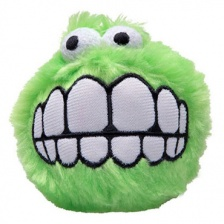 Игрушка Rogz Dog Fluffy Grinz Ball Lime