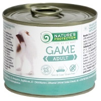 Консервы Nature's Protection Dog Adult Game (Дичь)