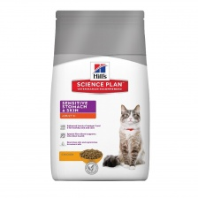 Сухой корм Hill's SP Feline Adult Sensitive Stomach & Skin