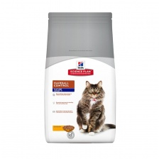 Сухой корм Hill's SP Feline Mature Adult Hairball Control Chicken