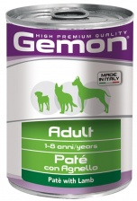 Gemon Консервы Dog Adult Pate Lamb