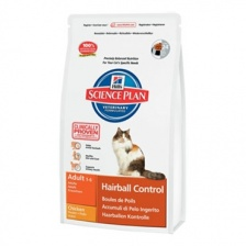 Сухой корм Hill's SP Feline Adult Hairball Control Chicken