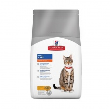 Сухой корм Hill's SP Feline Adult Oral Care Chicken
